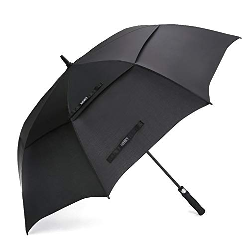 G4Free 54/62/68 Inch Automatic Open Golf Umbrella Extra Large Oversize Double Canopy Vented Windproof Waterproof Stick Umbrellas