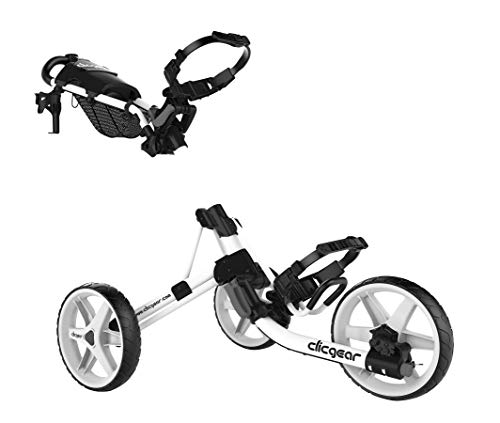 Clicgear Model 4.0 Golf Push Cart, White