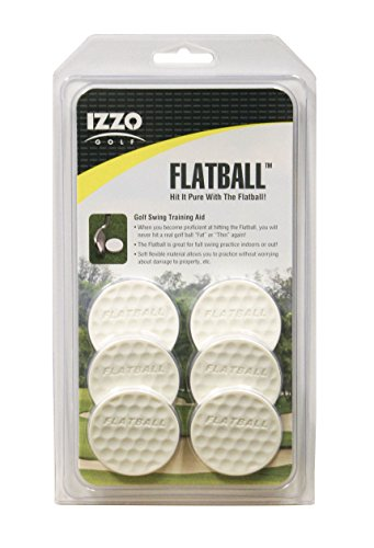 Izzo Golf Flatball Swing Golf Training Aid