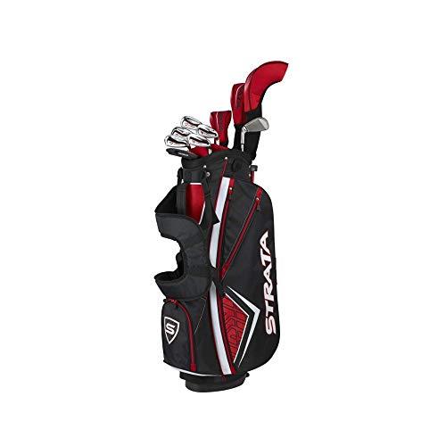 Callaway Golf Men's Strata Plus Complete Golf Set (14-Piece, Left Hand, Steel)