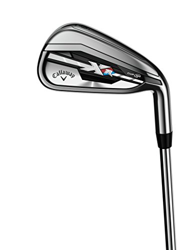 Callaway Men's XR Irons, Stiff Flex, Right Hand, Steel, 7
