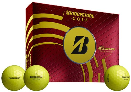 Bridgestone Golf 2014 Tour B330 RX Golf Balls (Pack of 12), Yellow