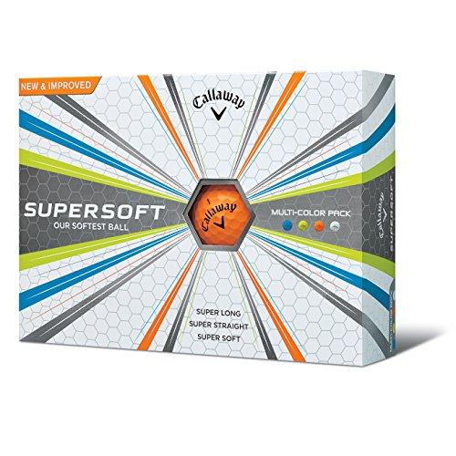 Callaway Supersoft Golf Balls, Prior Generation, (One Dozen), Multi