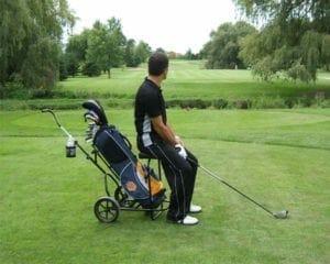 benefits of golf push cart