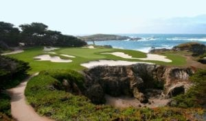 Monterey California golf course
