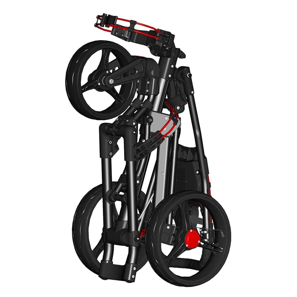 Spin It Golf push cart review