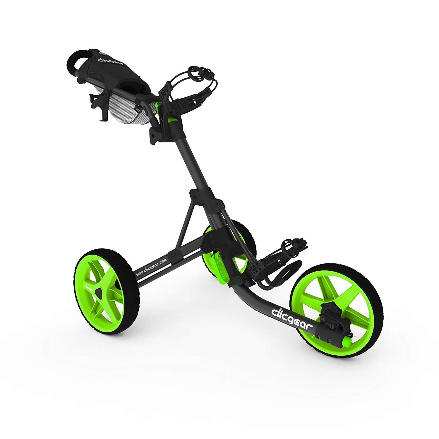 Clicgear Model 3.5+ Golf Cart, Charcoal:Lime