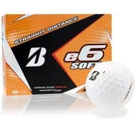 Bridgestone 2017 E6 Soft Golf Balls