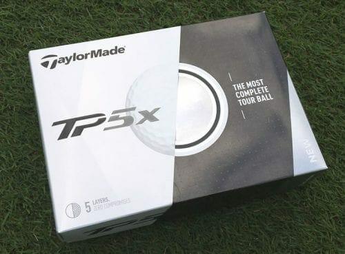 TaylorMade TP5X Prior Generation Golf Balls (One Dozen)