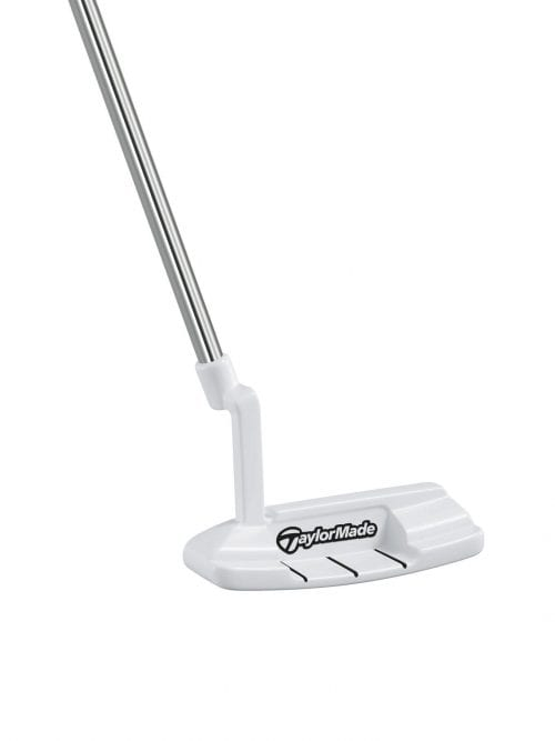 The Taylormade Golf White Smoke Putter In-12