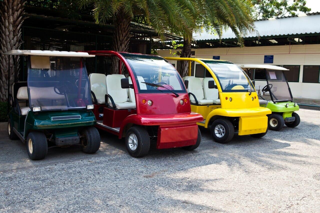 golf cart weight