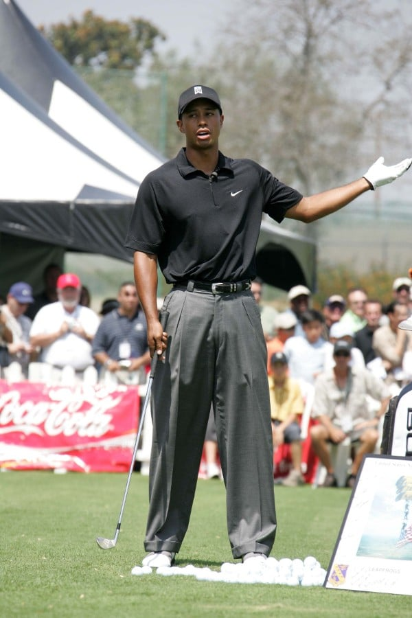 Tiger Woods golf touring professional