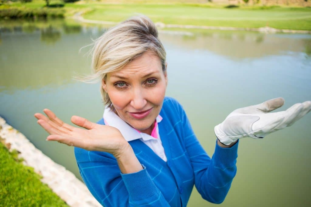 can golf balls get waterlogged