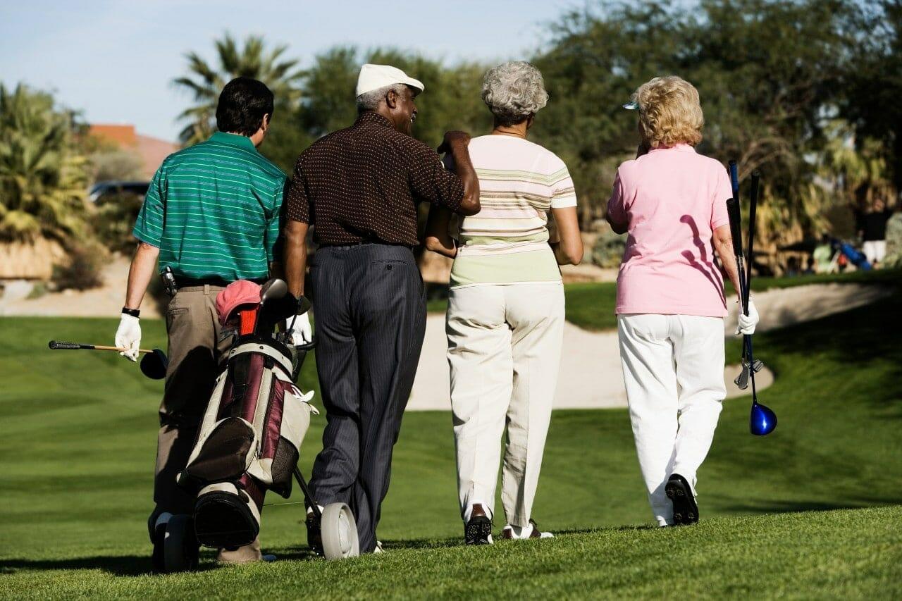 does golf burn calories