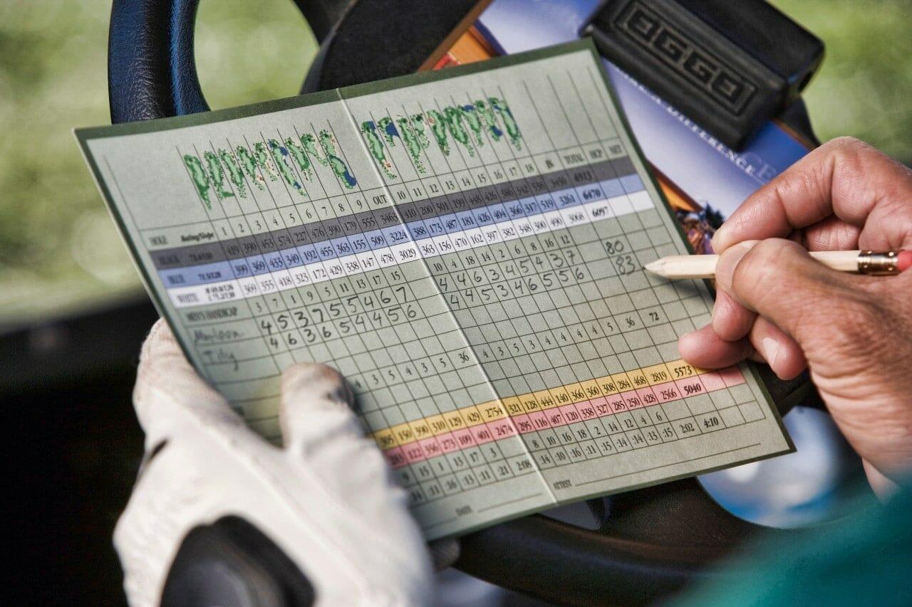 how golf scoring works
