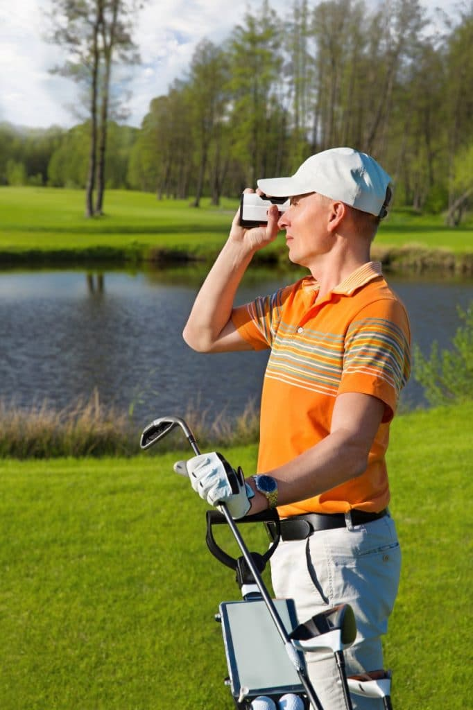 what is a golf rangefinder used for