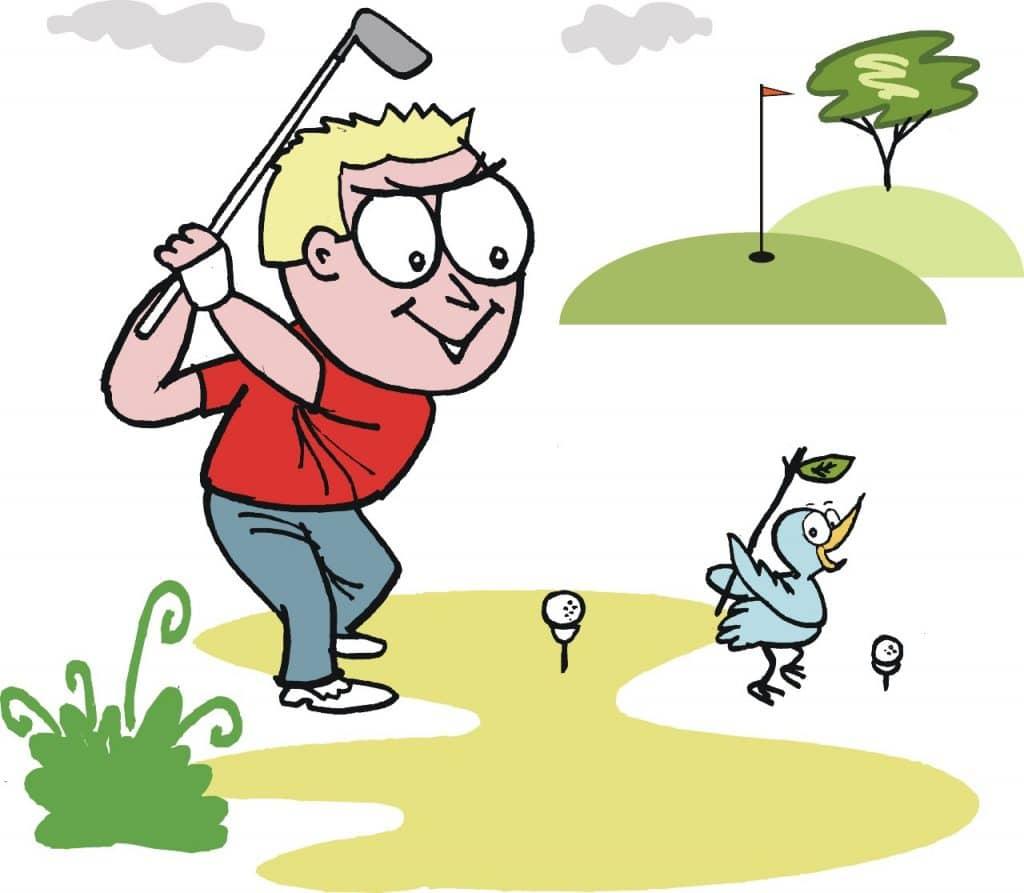 golf birdie history