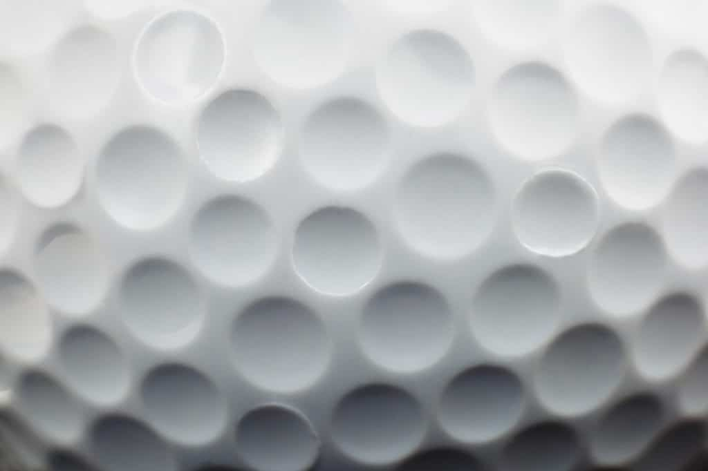 how golf balls are made - the dimples