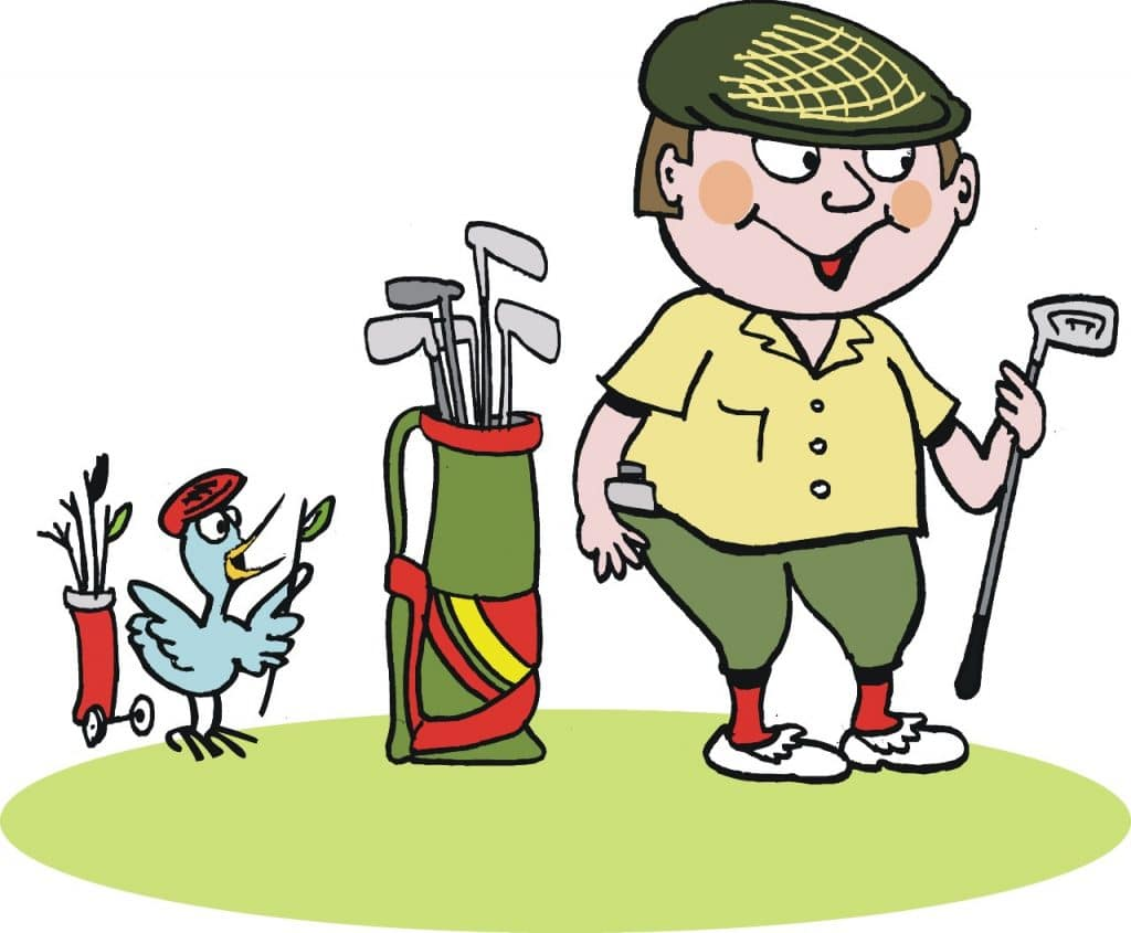 what is a golf birdie