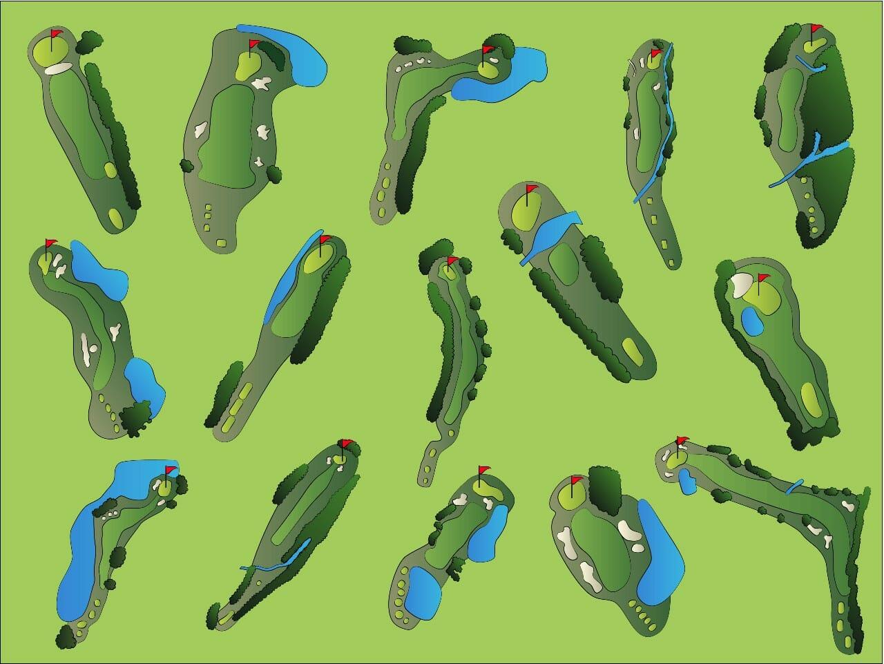 what is a par 3 golf course