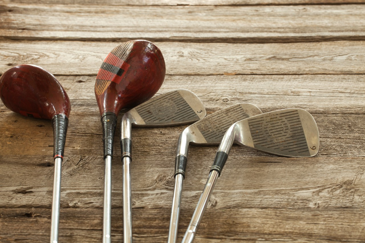 what to do with old golf clubs